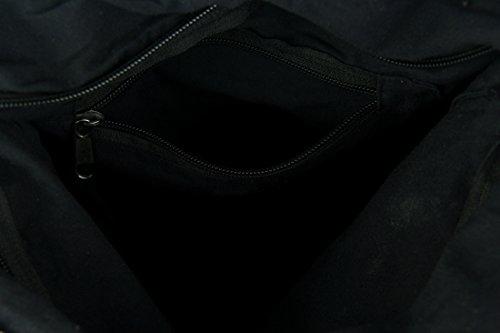 Crossbody Whale Cotton Bags Womens Bag Cotton Body Henna Tribal Boho Stripe Grey Cross xxFAq6