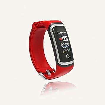 QUMOX Smartwatch Presión Arterial Monitor de Ritmo Cardíaco ...