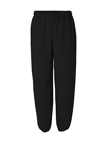 Cotton Blend Sweatpants (Gildan 18200 Heavy Blend Sweatpants, Black, Medium)