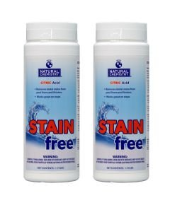 Natural Chemistry 4 07400 Swimming Pool Spa STAINfree Remover - 1.75 lbs Each