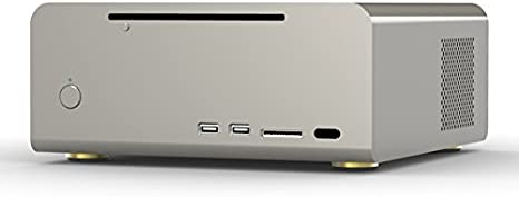 Streacom F7C HTPC Plata - Caja de Ordenador (HTPC, PC, Aluminio ...