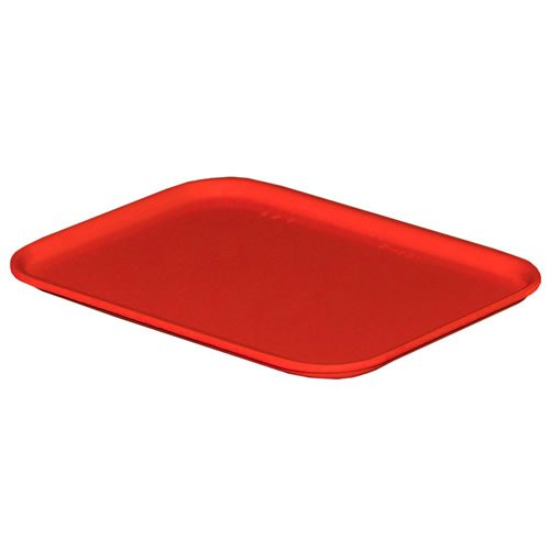 6-1/8''L x 4-7/8''W x 2-1/8''H Red Fiberglass Nesting Box with Red Cover (4 Boxes and Covers)