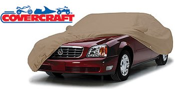 Covercraft C78003WC Ready-Fit Car Cover Deluxe 380 Series Carton-Taupe