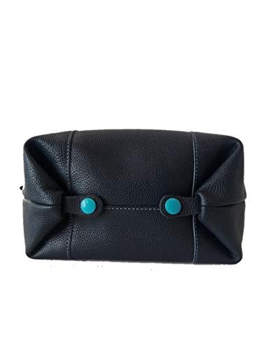 33 x à femme x a pour cm à sacca l'épaule H cm Bleu bleu L P Chiusa porter Sac base 28 16 cm GABS RqtFgg