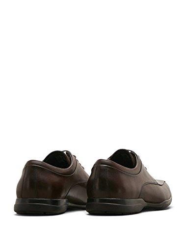 Kenneth Cole Reaction Mens Rem-Edy Brown Leather Oxford 7.5 M US yQS8U