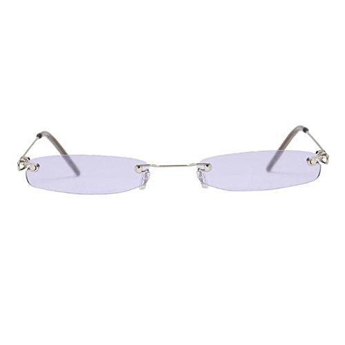 Plastique Violet Accessoire Homme de Lunettes Lunettes Femme Soleil UV400 MagiDeal en Prorection 0PHZxw