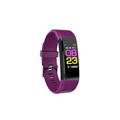 DMMDHR Smart Fitness Bracelet ip68 Waterproof Fitness Sport Tracker Wristbands Blood Pressure Measurement Heart Rate Monitor Estimated Price £36.76 -