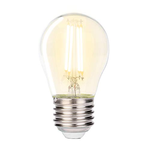 Price comparison product image Dimmable Led Edison Light Bulb Edison Retro Light Bulb Tungsten Filament Light Bulbs G45 Vintage Bulb 4W Edison Tungsten Starlight Bulb for Christmas Home Decor 1PC (D)
