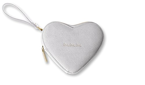 Heart Silver Pouch Loxton Katie Loxton Clutch Katie Heart Bag vzISvq8x