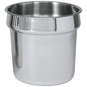 Steam Table Inset - 2-1/2 Qt. Round Stainless Steam Table Inset Pan ( 1 Dozen)