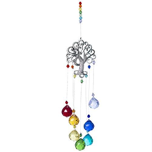 Crystal Suncatcher Hanging Ornament Rainbow product image