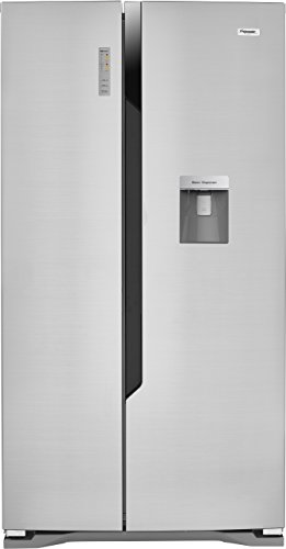 Fridgemaster MS91515DFF Freestanding A+ Rated American Fridge Freezer - Silver