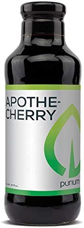 Purium Apothe Cherry – 16 oz – Tart Cherry Supplement, Contains Natural Melatonin, Supports Restful Sleep, Healthy Joint Function Uric Acid Metabolism – 32 Servings