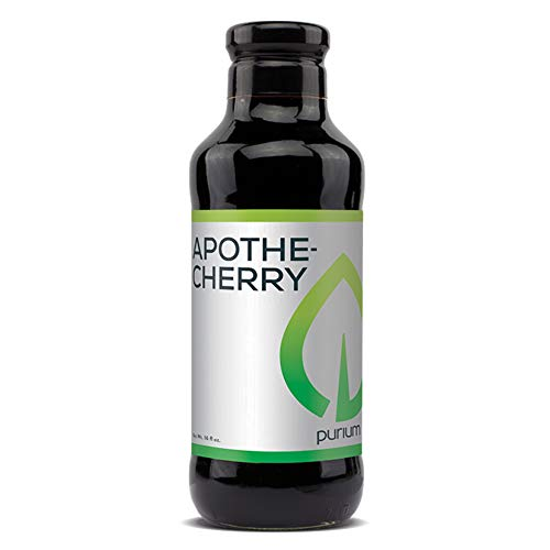 Purium Apothe Cherry - 16 oz - Tart Cherry Supplement, Contains Natural Melatonin, Supports Restful Sleep, Healthy Joint Function & Uric Acid Metabolism - 32 Servings