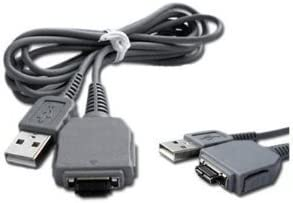 Cable USB Sony Cyber-shot dsc-w650 Cyber-shot dsc-w520 cable cargador negro