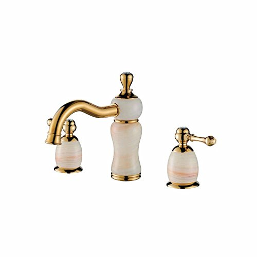 Qin & X Baño Sink Licuadora grifo Antique Brass: Amazon.es ...