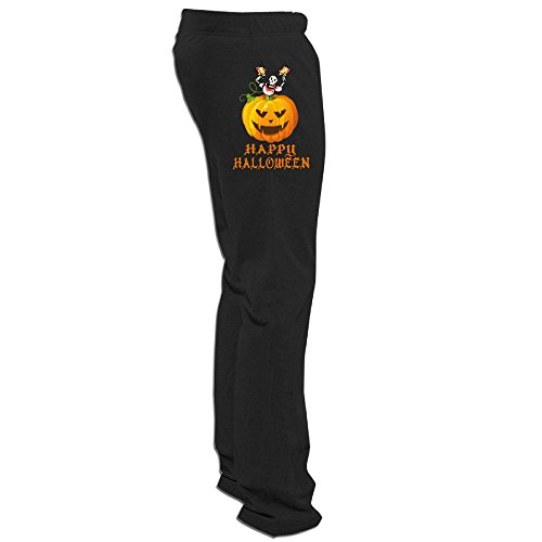ElishaJ Men's Halloween Popular Workout Trousers Black 3X]()