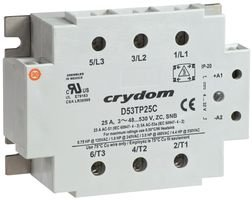 Solid State Relay, 90 to 140VAC, 50A