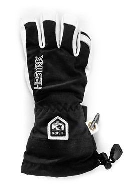 Hestra Heli Ski Glove Kid's- Black 6