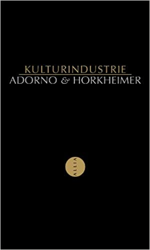 Theodor W. Adorno - Kulturindustrie sur Bookys