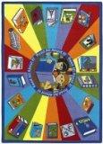 Joy Carpets Kid Essentials Language & Literacy Read All Abou
