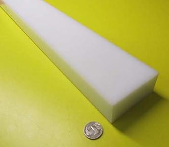 1-1//2 Round Rod x 48 1 pc White HDPE 1.50 High Density Polyethylene