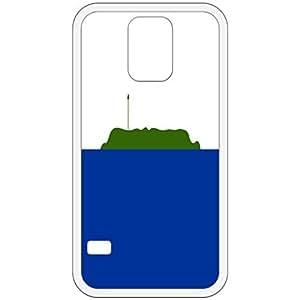 Nevassa Island Flag White Samsung Galaxy S5 Cell Phone Case - Cover