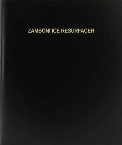 BookFactory® Zamboni Ice Resurfacer Log Book / Journal for sale  Delivered anywhere in USA