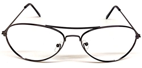 Aviator Eyeglasses / Sunglasses Frames for Prescription No Lenses - Cost Low Aviator Sunglasses