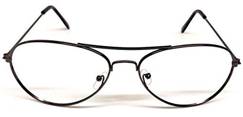 Aviator Eyeglasses / Sunglasses Frames for Prescription No Lenses - Glasses Prescription Police