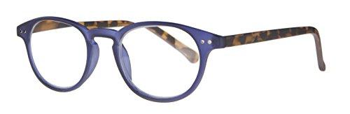 Icon Eyewear Damen Brillengestell Mehrfarbig Clear matt blue front, matt demi temples. Core wire