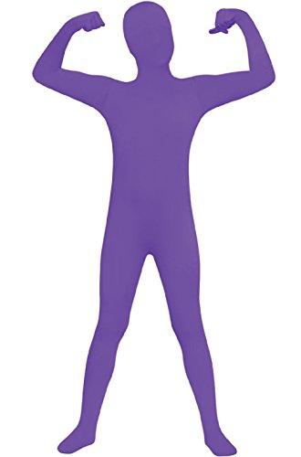 Purple 2nd Skin Suit Kids Costumes (2nd Skin Suit Child Halloween Costume (Purple))