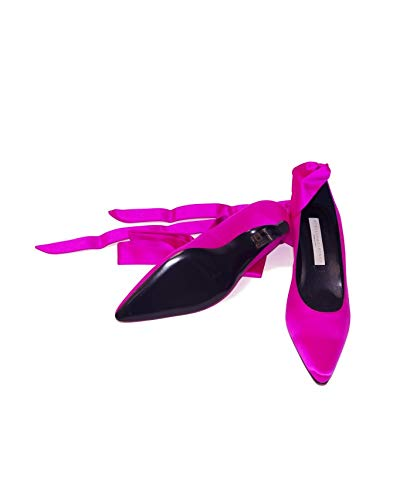 Raso Di Seta Fucsia Scarpe Stella Pumps In Mccartney w4xgXnqfB