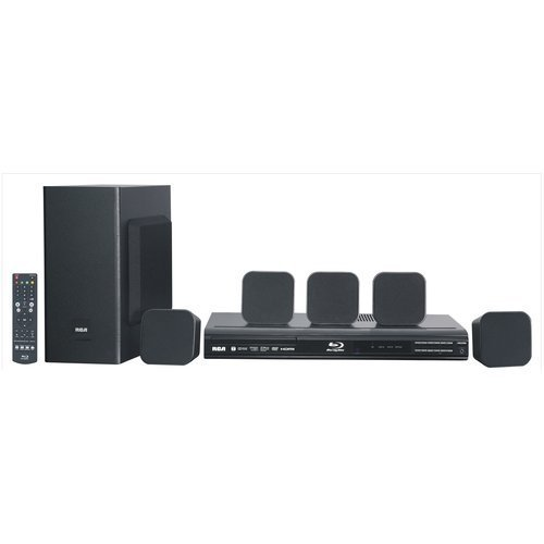 RCA - Home Theater System with Blu-ray Player RTB10323LW 200W by RCA
