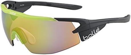 137b5ec4c6 Amazon.com: Bolle Aeromax Translucent Green Brown Emerald Oleo AF, Matte  Black: Sports & Outdoors