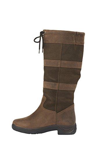 De Boots Cadeau Dublin Impermable Gratuit Largeurs Membrane Chocolat Avec Nikwax Et River 0UUqg