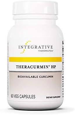 Integrative Therapeutics – Theracurmin HP – Turmeric, Curcumin Supplement – 27x More Bioavailable – High Absorption Turmeric* – Vegan – 60 Capsules