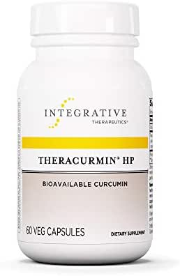 Integrative Therapeutics - Theracurmin HP - Turmeric, Curcumin Supplement - 27x More Bioavailable - High Absorption Turmeric* - Vegan - 60 Capsules