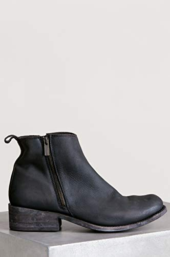 Boots Distressed BLACK Leather Men's Ankle LIBERTY xRwPaX