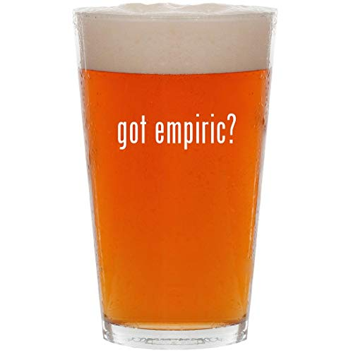 got empiric? - 16oz All Purpose Pint Beer Glass