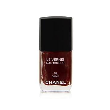 Amazon.com : Chanel Le Vernis Nail Colour 18 Vamp : Skincare : Beauty