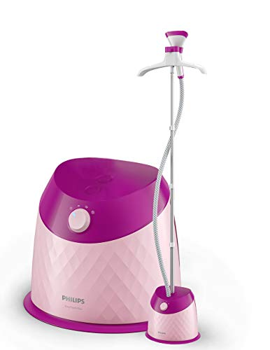 (CERTIFIED REFURBISHED) Philips Easy Touch Plus GC514/40 1600-Watt Garment Steamer (Pink)