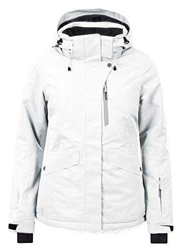 Icepeak 853229576i, Giacca Da Sci Donna Bianco