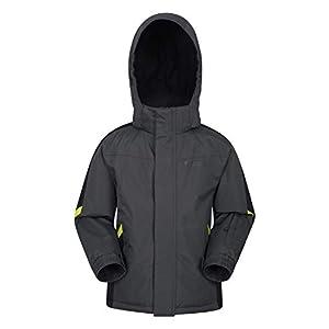 Mountain Warehouse Veste de Ski Raptor Enfants – Manteau Résistant à la Neige, Doublure Polaire, Jupe Pare-Neige Intégrée – Parfaite pour l'hiver