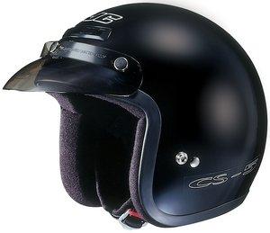Hjc CS-5 CS5 CRUISERn Black SIZE:MED Open Face Motorcycle Helmet