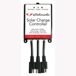 7a Charge Controller (Schumacher Electric (SCUSPC-7A) Solar Charge Controller, Protects Battery from Overcharge and Discharge, for 12 Volt Solar Panels)