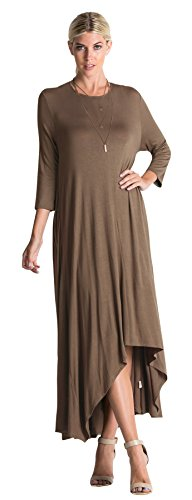 high low hem maxi dress - 5