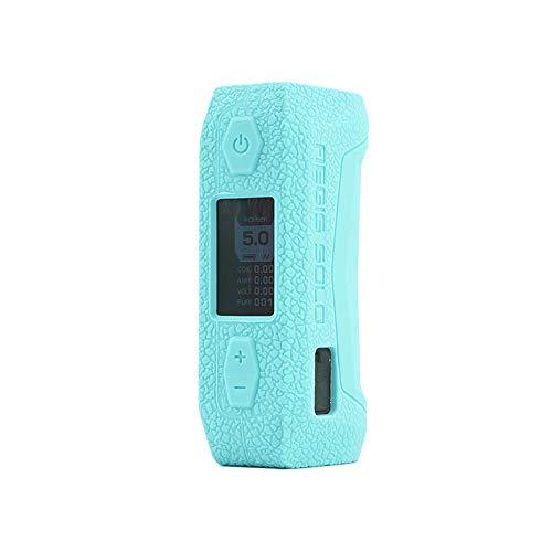 CEOKS for GeekVape aegis Solo 100W Silicone Case, Anti-Slip Protective Silicone Case Skin Rubber Cover for GeekVape aegis Solo 100W Vape Box Rubber case wrap Shield (Tiffany Blue)
