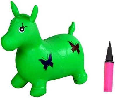 Toyvian Caballo Hinchable para Saltar Caballo Inflable ...