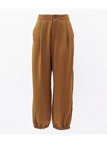 ANAP(アナップ)【Settimissimo】サイドライン裾絞りワイドパンツ